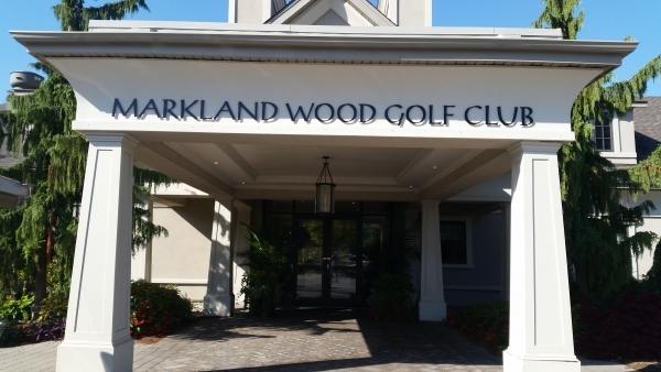 Markland Golf Club 3D aluminium letters