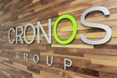 3D solid aluminium painted to match the colors CRONOS