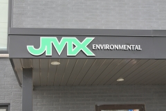 JMX 3D aluminium letters