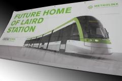 Metrolinx mesh banner