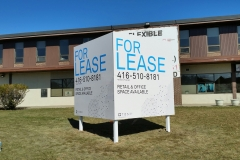 Billboard v shape For Lease