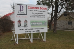 Custom billboard Bloomfield Urban homes