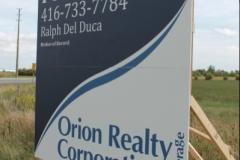 Orion Realty Corporation crezon billboard