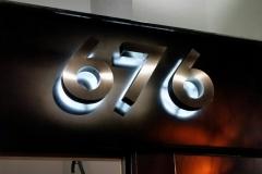 Halo illuminated numbers