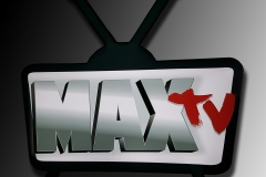 LED illuminated channel box MAX TV