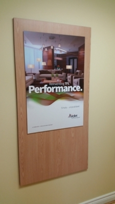Performance reception lobby