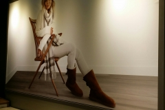 Wall graphics for UGG store