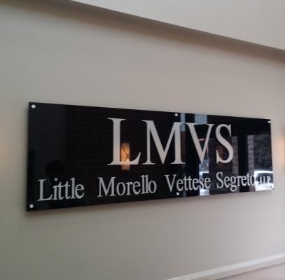 Reception sign for LMVS