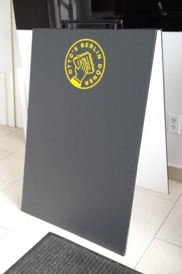 Custom chalck a board