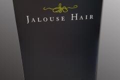 Chalk a board Jalouse Hair salon
