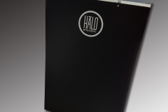 Halo Brewery custom chalk a frame